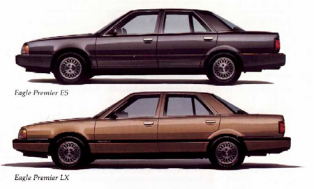 While On The Surface Eagle Premier May Seem Like Just Another Ho Hum Four Door From A Forgettable Brand It Leaves Its Own Legacy As Well Being