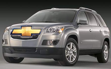 REPORT: Chevy Traverse to join GM's group of Lambda CUVs