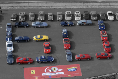 Auto Racing Track Records on Gunning For Guinness  Ferrari Eyes Record With Parade At Silverstone