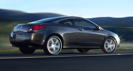 Pontiac G6 Recalls 2008 Power Steering