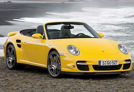 Yellow Porsche 911 Turbo Picture