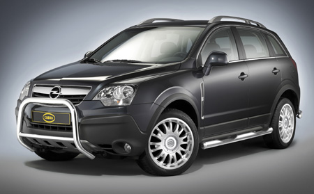 Opel Antara 2008. while as the Opel Antara.