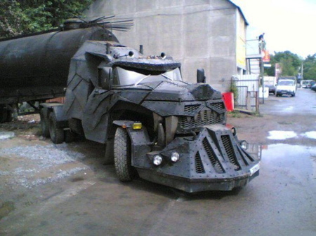 Be afraid: Dragon Tank Truck from Russia