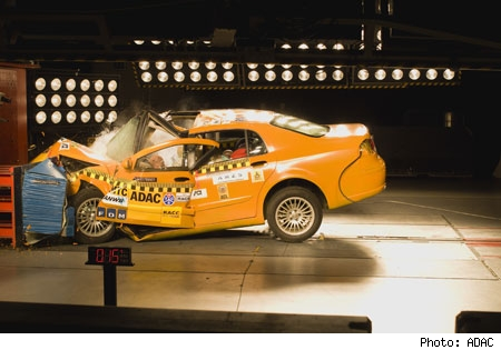 Brilliance BS6 ADAC crash test