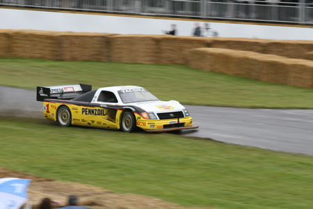 that were at the track during the Goodwood Festival of Speed this week