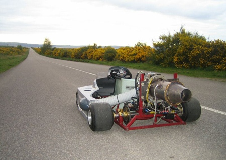 Jet Engine Go Kart