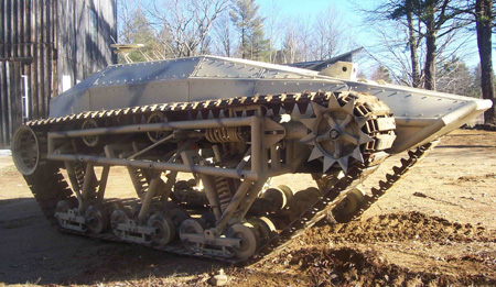 Building A Tracked Vehicle