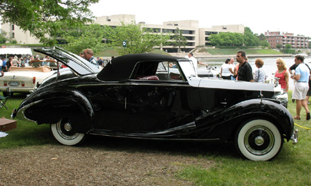 1050 Rolls-Royce Silver Wraith Roadster