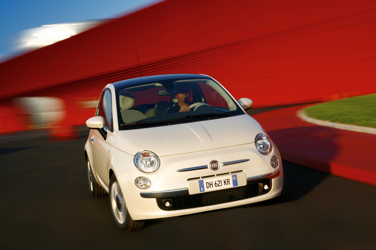 2010 Fiat 500. I am old