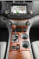 Toyota Highlander 2008 Interior