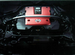 NISMO 3.8 RS engine