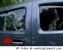 HUMMER Vandalized in DC