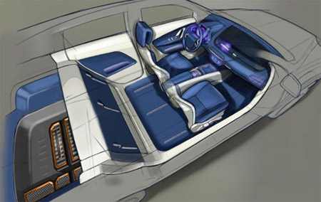 Interior Design Concepts on Auto Supplier Preps New Interior Concepts For Frankfurt