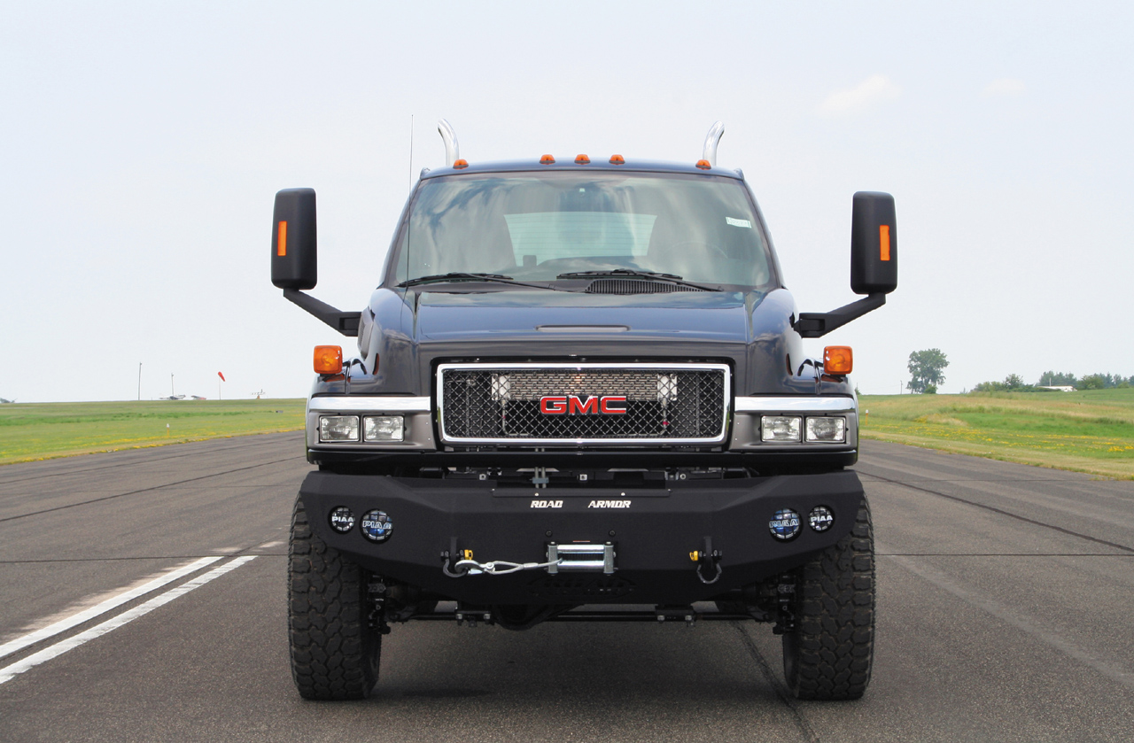 Ironhide Edition Gmc Topkick 6500 Pickup By Monroe Truck Photo Gallery Autoblog