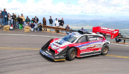 Monster Tajima breaks Rod Millen's Pikes Peak record