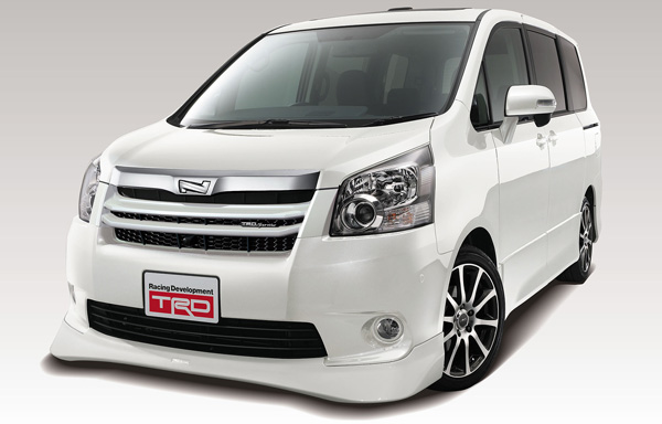 Trd Accessories For Toyota Noah Voxy Photo Gallery Autoblog