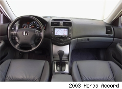 Spy Shots 2008 Honda Accord Interior From The Inside Autoblog