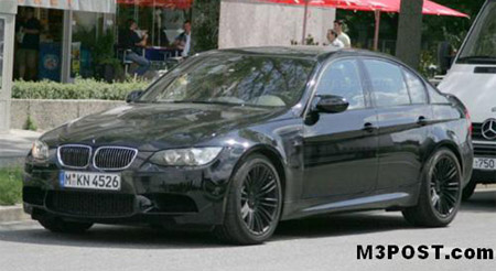 Spy Shots New Un Camoed Bmw Sedan Pics Surface Autoblog