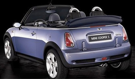 Mini Cooperconvertible on 2007 Model Shown Pricing For The 2008 Mini Cooper Convertible Has Been