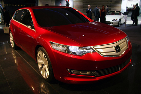 Frankfurt 2007: Honda Accord Tourer previews Accord Wagon