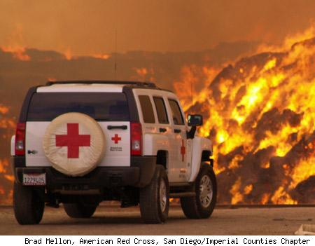 Auto Cross Racing California 1968 on Photo Of The Day  Red Cross Helps Fight California Fires