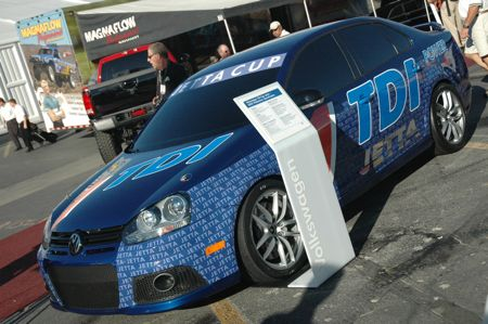 click above image for more high res pics of the jetta tdi cup racer