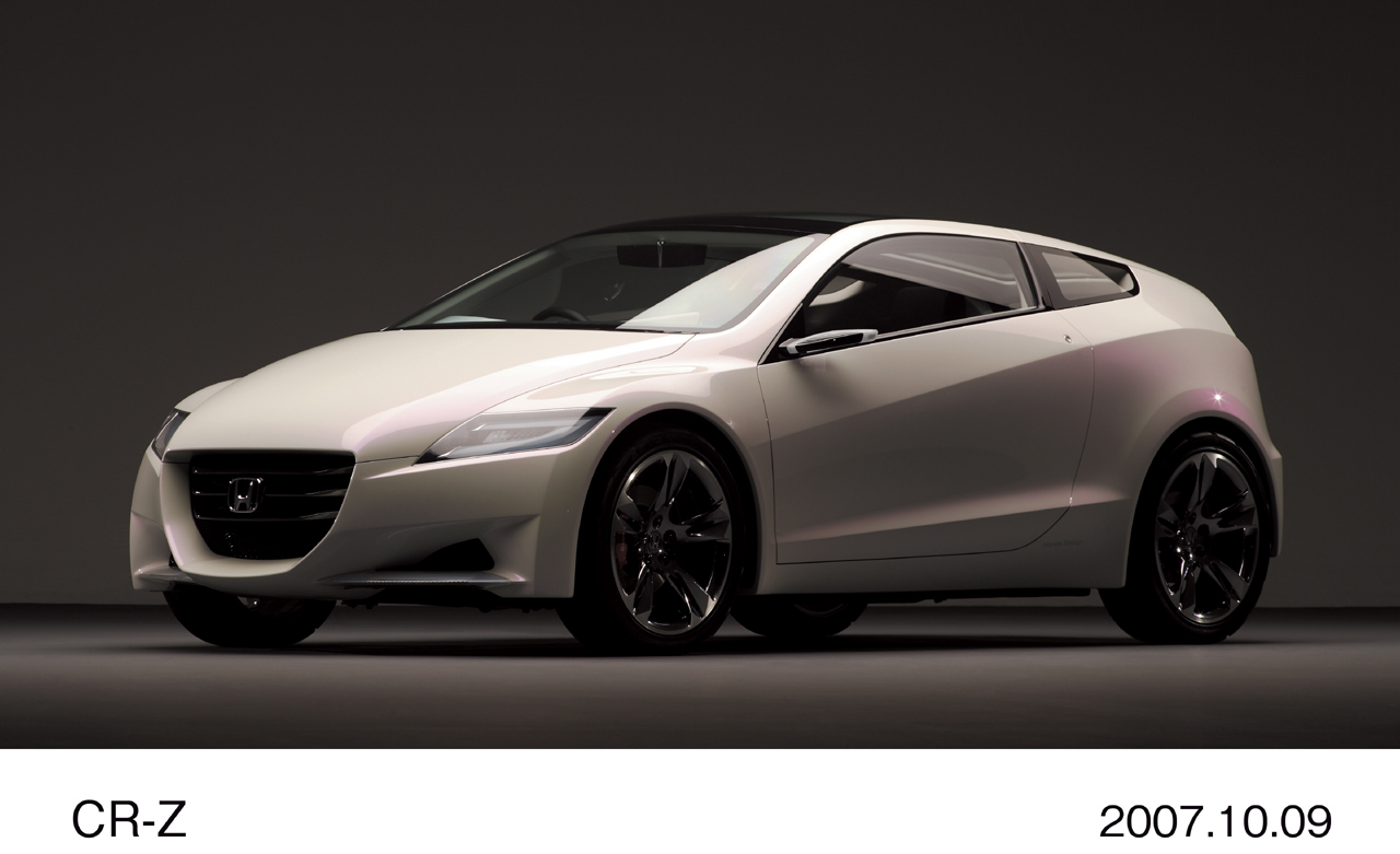 Honda Has Released Images Of Its Latest Hybrid Cr Z Concept   Apps