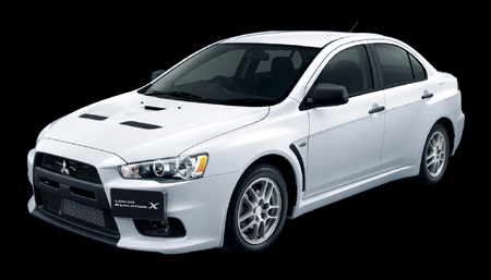 though print mags bearing the new mitsubishi lancer evolution x as their cover car have already hit newsstands the car isnt really official until