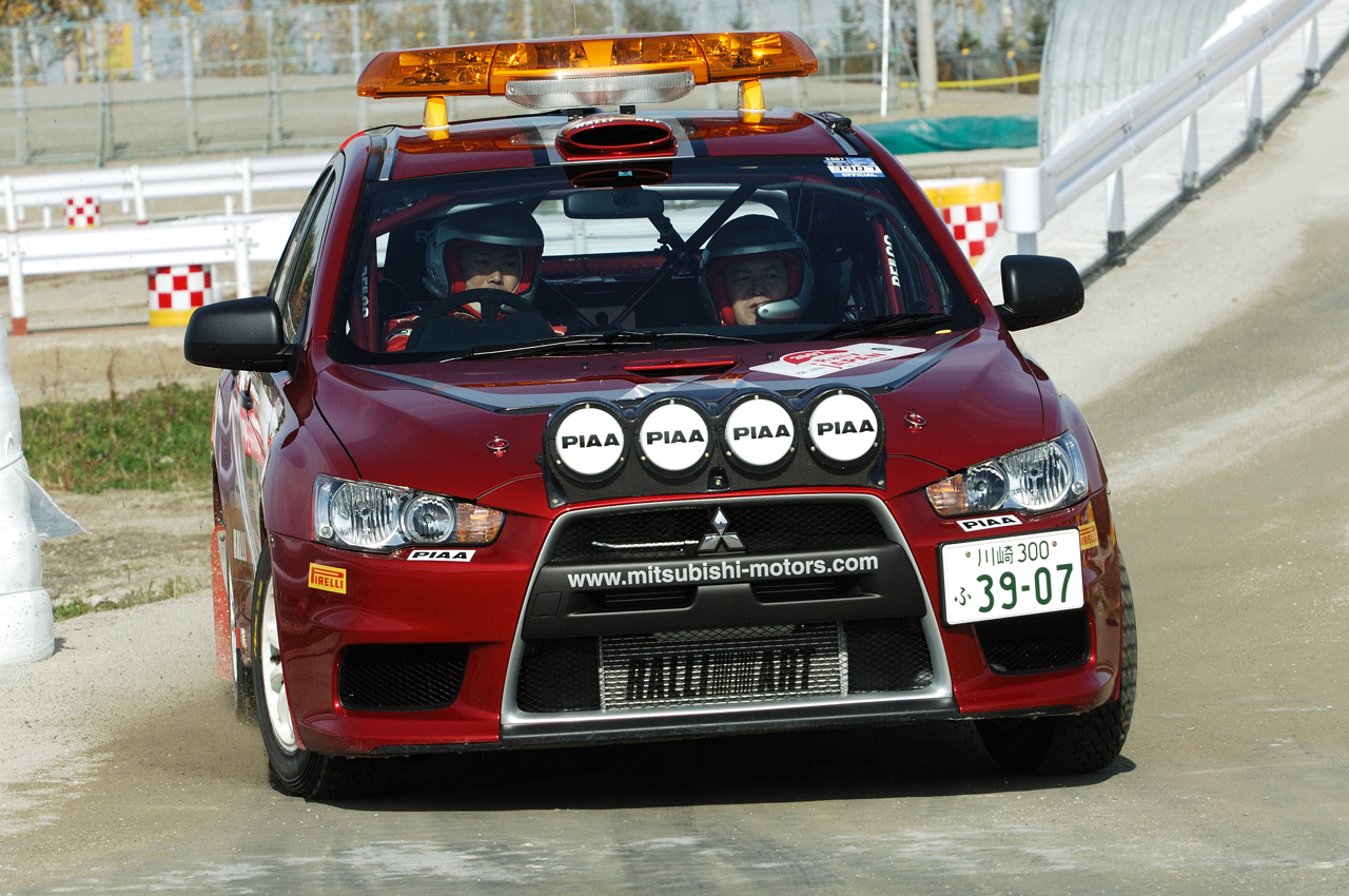 Mitsubishi Lancer Evolution X Rally Cars - ClubCJ - The CJ Lancer Club