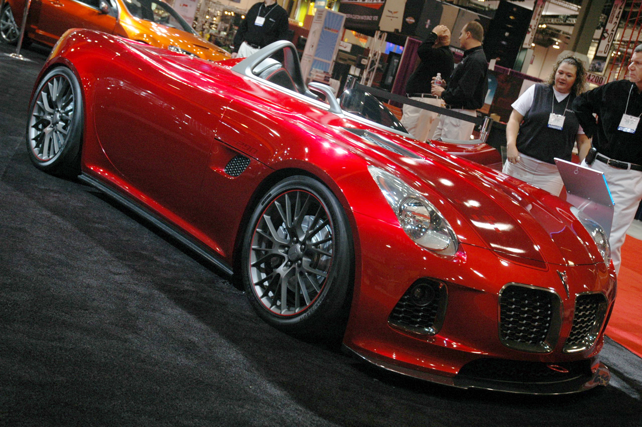 2007 Pontiac Solstice Sd 290 Concept Cars Drive Away 2day