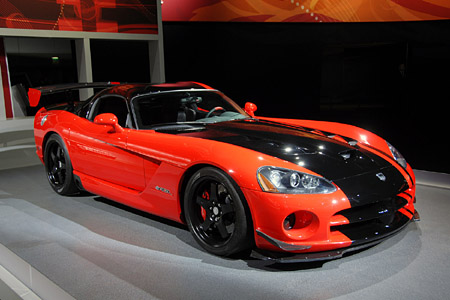 click above image for more live shots of the 2008 Dodge Viper ACR