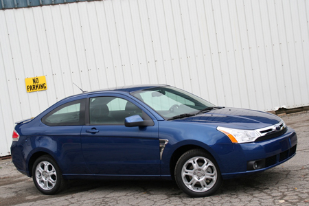 Review 2008 Ford Focus SES Coupe  Autoblog