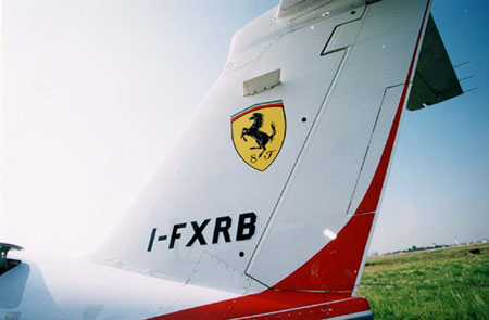 Ferrari Logo Horse. Picture a Ferrari logo on the