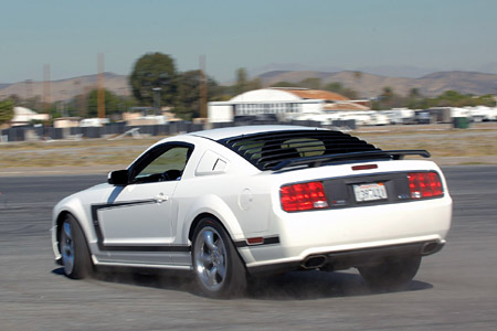 First Drive 2008 Saleen S302E and H302SC Mustangs  Autoblog