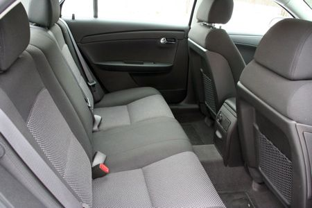 The Interior Of The Malibu Is A Revelation For A Mainstream Domestic Car.  Even On This Low End Model, The Quality Of The Materials Was Excellent.