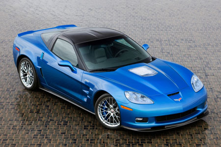 2009 Corvette ZR1 Blue Devil