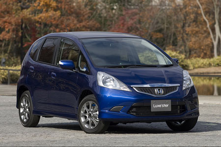 Tokyo Auto Salon: Honda Fit Luxe'ster