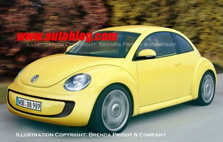 new vw beetle 2012 convertible. VW New Beetle renderings