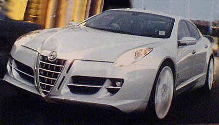 Alfa Romeo on Rendered Speculation  Alfa Romeo 169   Autoblog