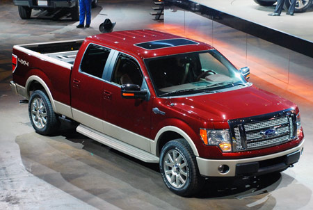 click above for high-res live shots of the 2009 Ford F-150