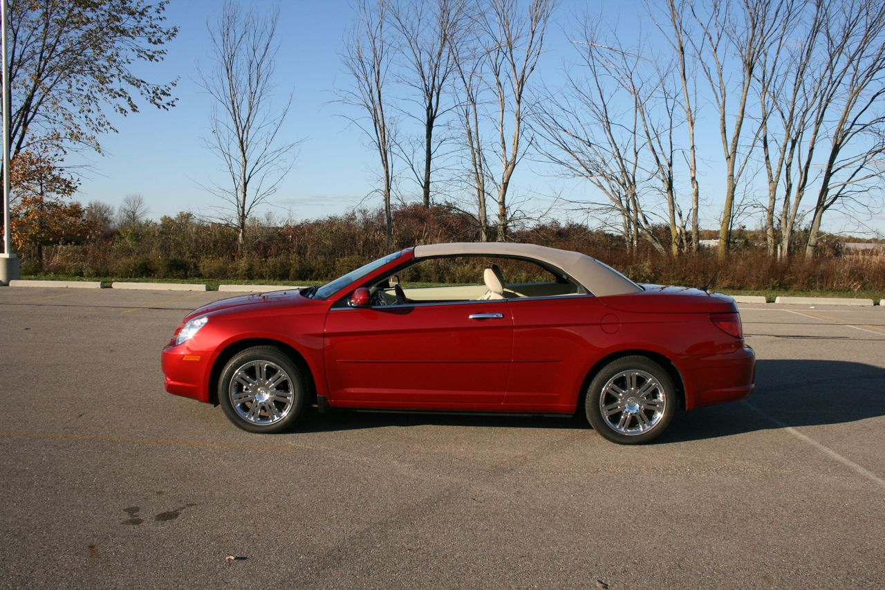 review 2008 chrysler sebring limited convertible photo gallery. Cars Review. Best American Auto & Cars Review