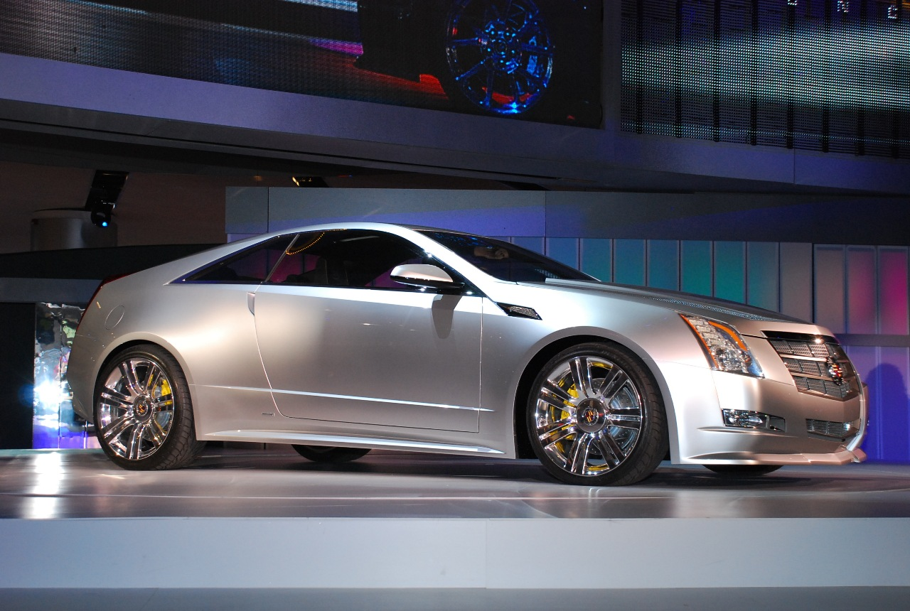 cts coupe cadillac 2008 concept autoblog