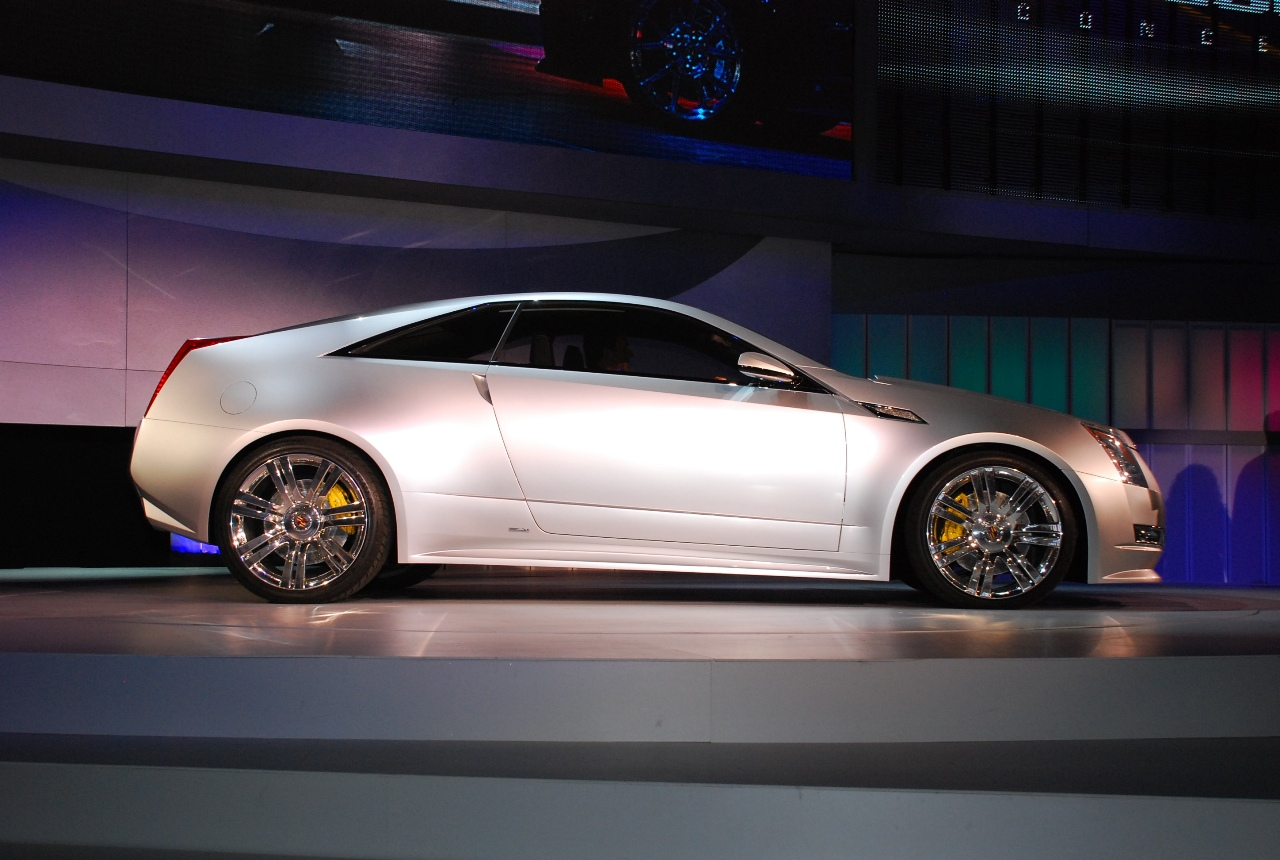 Detroit 2008 Cadillac Cts Coupe Concept Live Reveal