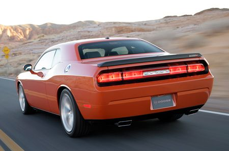 above to enlarge and view more official '08 Dodge Challenger images