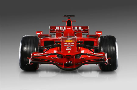 Formula  Auto Racing on Ferrari Unveils F2008 Formula One Race Car