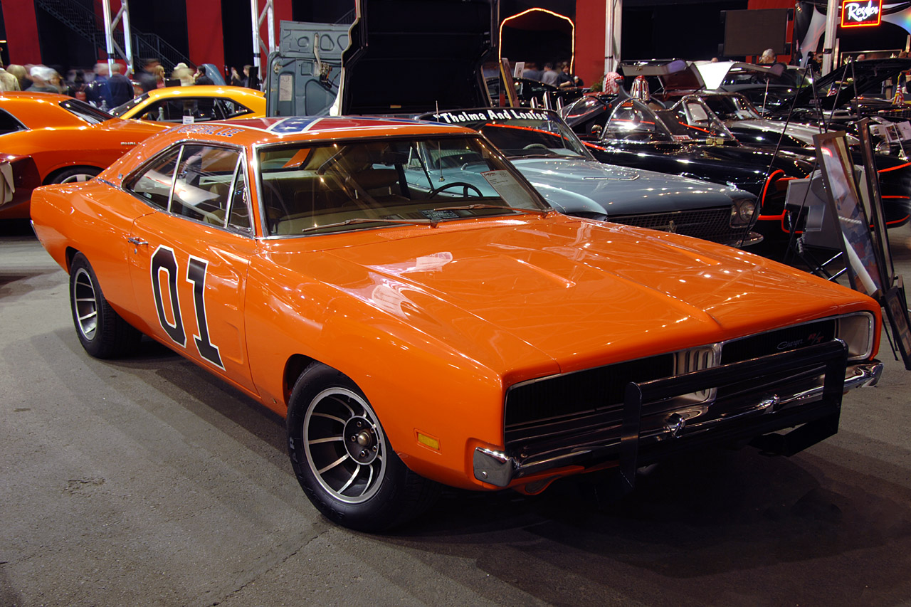 Barrett Jackson 2008 General Lee Dodge Charger Photo