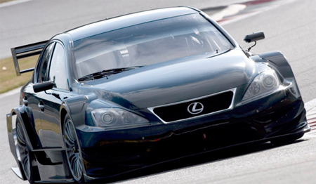 Auto Racing Stores Toyko on 2008 Tokyo Auto Salon  Lexus Is F Racer Unveiled