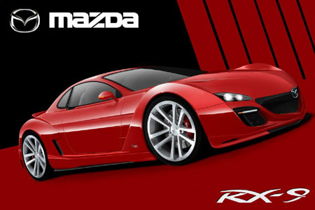Rendered Speculation Another Stab At The 2012 Mazda Rx 9