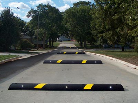 Road with Speed Bump