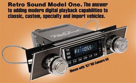Auto Racing Sounds on Retro Sound Radio Brings Modern Music To Your Classic Car